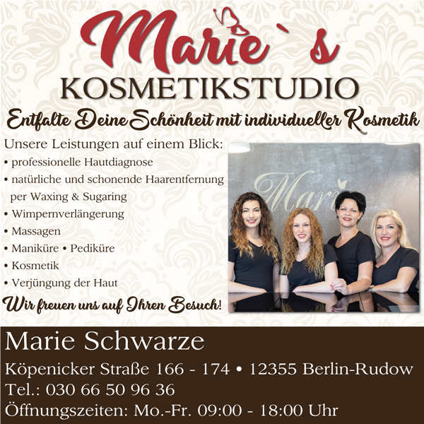 Marie´s Kosmetikstudio Rudow