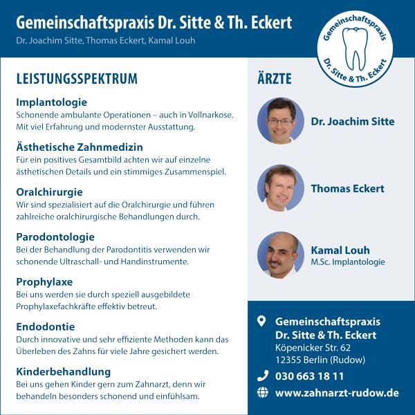 Zahnärztliche Gemeinschaftspraxis Dr. Sitte - Rudow