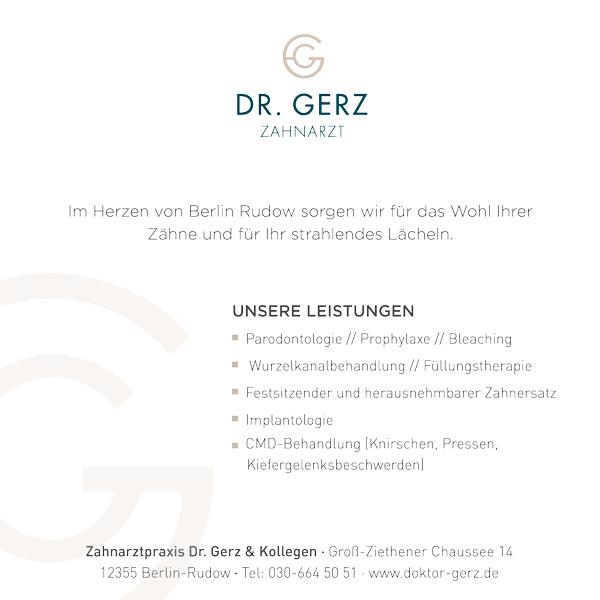 Zahnarztpraxis Dr. W. Gerz - Rudow