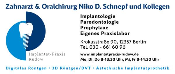 Zahnarzt & Oralchirurg Dr. Nico D. Schnepf - Rudow