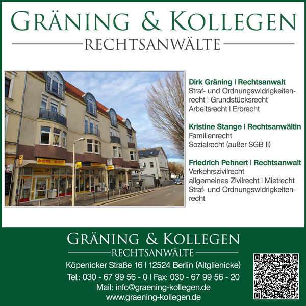 Gräning & Kollegen Rechtsanwälte - Altglienicke / Rudow