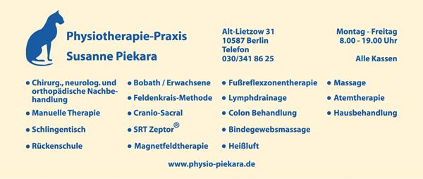 Physiotherapie-Praxis Susanne Piekara