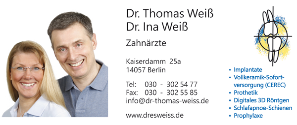 Zahnarztpraxis Dr. Ina & Thomas Weiß