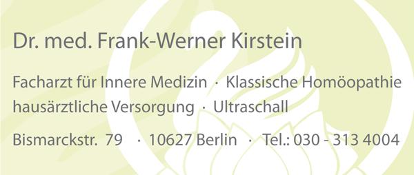 DR. MED. FRANK-WERNER KIRSTEIN