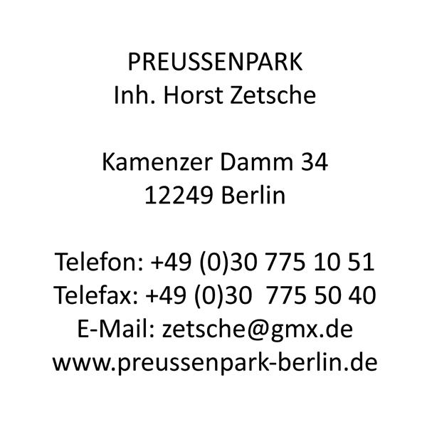 Preussenpark Sportanlage