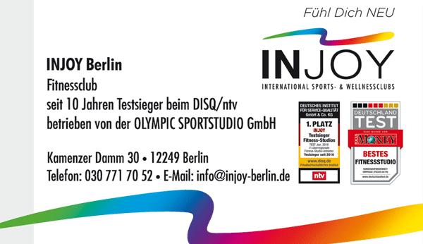 INJOY OlympicSportstudio GmbH