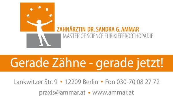 MSc. Kieferothopädie Dr. Sandra G. Ammar