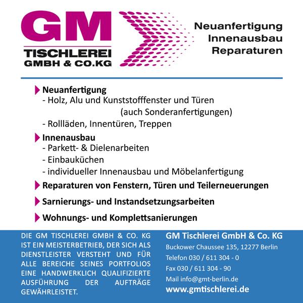 GM Tischlerei GmbH & Co Kg