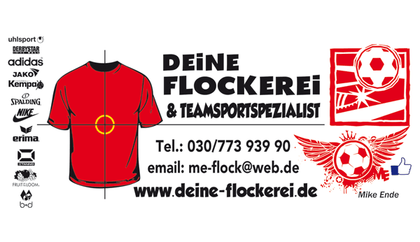 Deine Flockerei & Teamsportspezialist