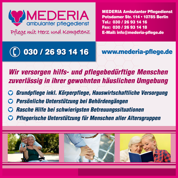 Mederia Ambulanter Pflegedienst