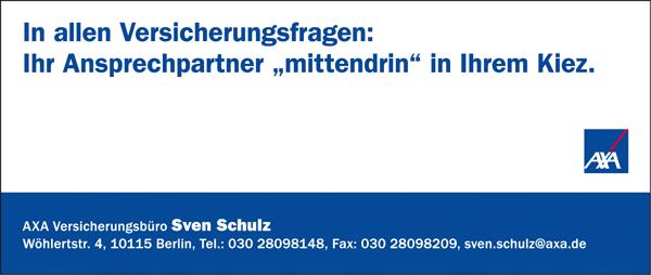 AXA Versicherungsbüro Sven Schulz