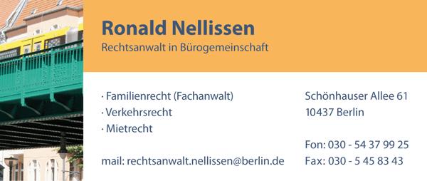 Rechtsanwälte und Steuerberater in Bürogemeinschaft · Schönhauser Allee 61