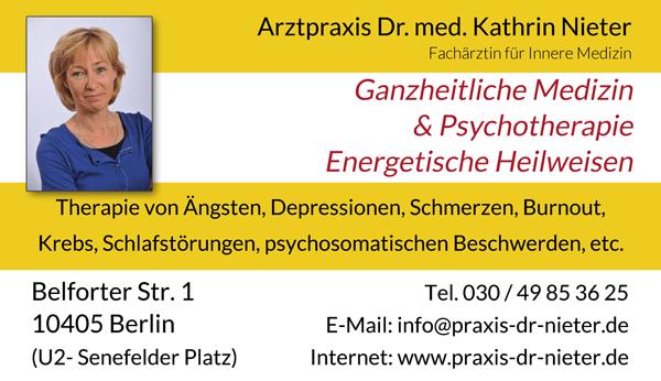 Arztpraxis Dr. Med. Katrin Nieter Fachärztin für Innere Medizin