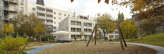 FRÖBEL-Kindergarten mittendrin