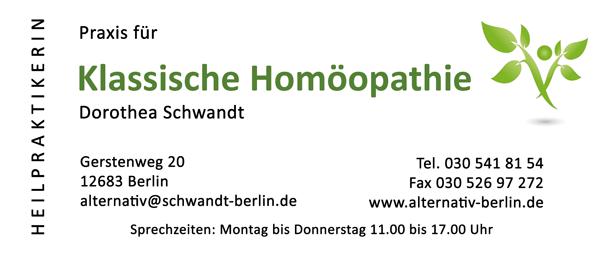 Praxis für Klassische Homöopathie Dorothea Schwandt Heilpraktikerin