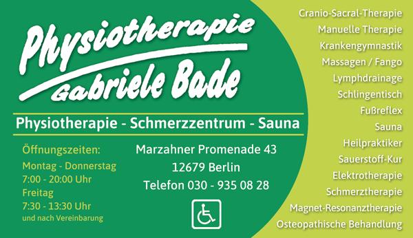 Physiotherapie Gabriele Bade