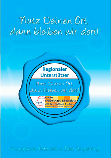 Projekt-Broschüre AWO/ pad Freizeithaus Balzerplatz