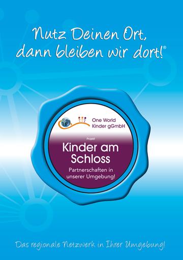 Projekt-Broschüre One World Kinder am Schloss