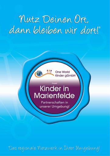 Projekt-Broschüre One World Kinder in Marienfelde