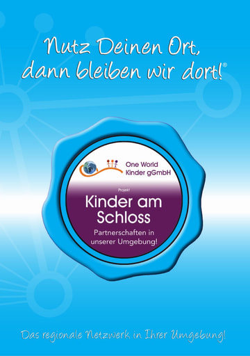 Projekt-Broschüre One World Kinder am Schloss