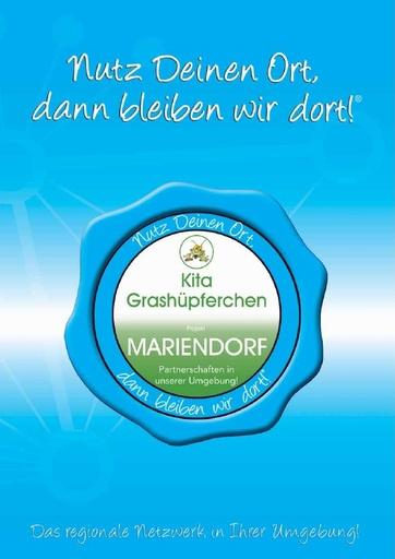 Projekt-Broschüre Grashüpferchen Mariendorf